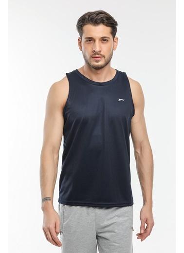 Slazenger Slazenger RUN I Erkek T-Shirt  Lacivert